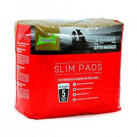 Tapete Higiênico Slim Pads - 30 unidades - Petmais