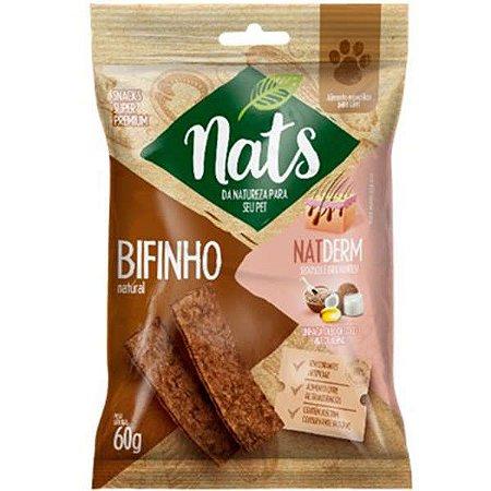 Bifinho Natural Natderm 60g - Nats