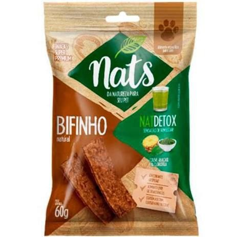 Bifinho Natural Natdetox 60g - Nats