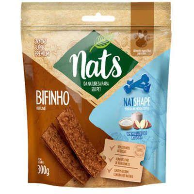 Bifinho Natural Nats Shape 300g - Nats