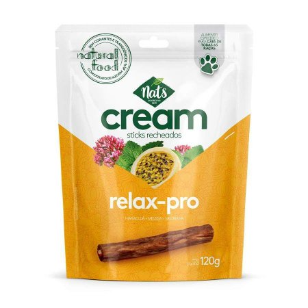Stick Recheados Cream Relax-Pro 120g - Nats