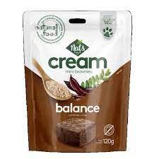 Mini Brownies Cream Balance 120g - Nats