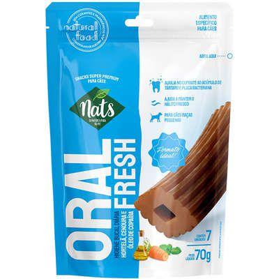 Oral Fresh Raças Pequenas 70g - Nats
