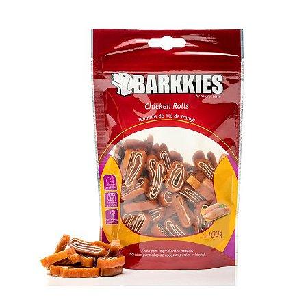 Barkkies Chicken Rolls 100g