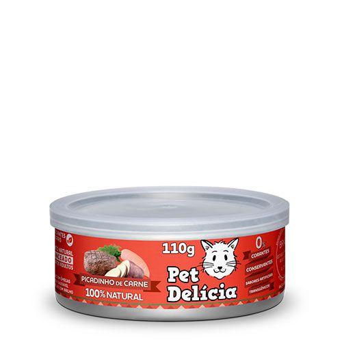 Picadinho De Carne 110g P/ Gatos