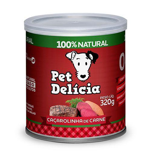 Caçarolinha De Carne 320g P/ Cães