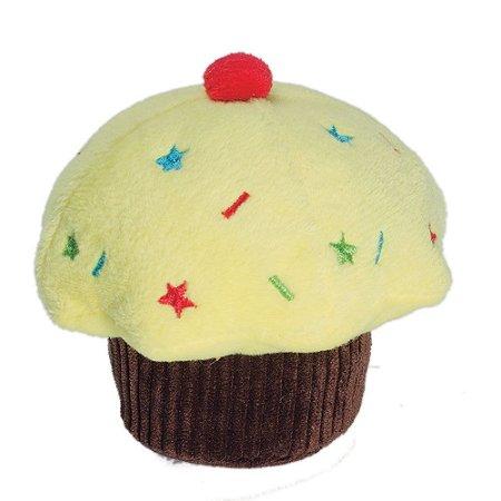 Fun Cupcake Amarelo - Pet Brink