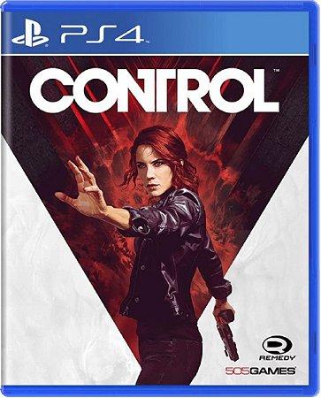 Jogo Control - PS4 Mídia Física Usado