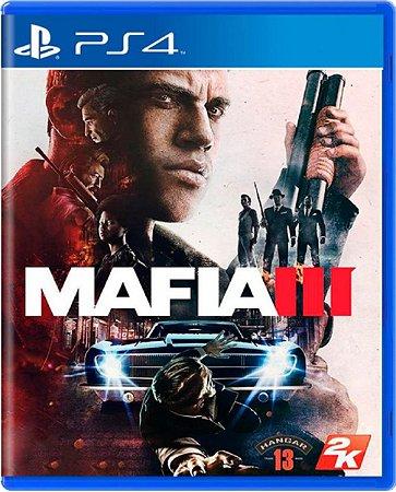 Jogo Mafia III - Ps4 Mídia Física Usado
