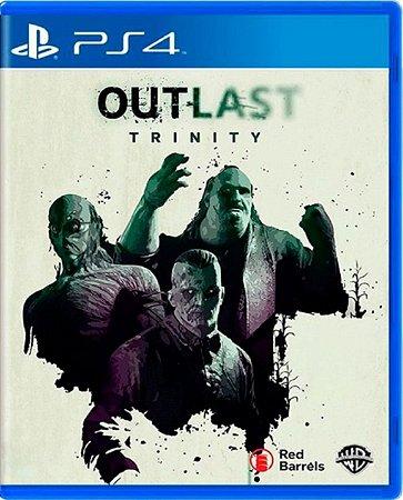 Jogo Outlast Trinity - Ps4 Mídia Física Usado