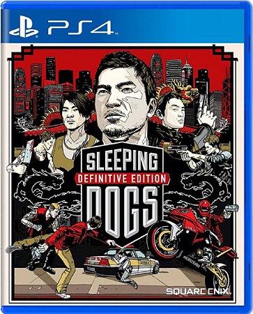 Jogo Sleepings Dogs Definitive Edition - Ps4 Física Usado