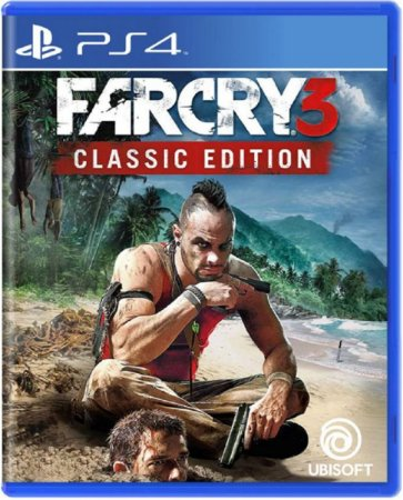 Jogo Farcry 3 Classic Edition - Ps4 Mídia Física Usado