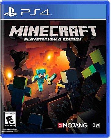 Jogo Minecraft Playstation 4 Edition - Ps4 Mídia Física Usado