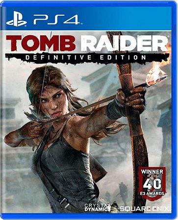 Jogo Tomb Raider Definitive Edition - Ps4 Mídia Física Usado
