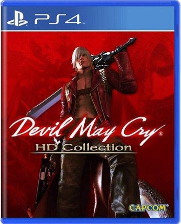 Jogo Devil May Cry HD Collection - Ps4 Mídia Física Usado