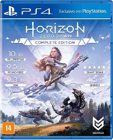 Jogo Horizon Zero Dawn Complete Edition Ps4 Física Usado