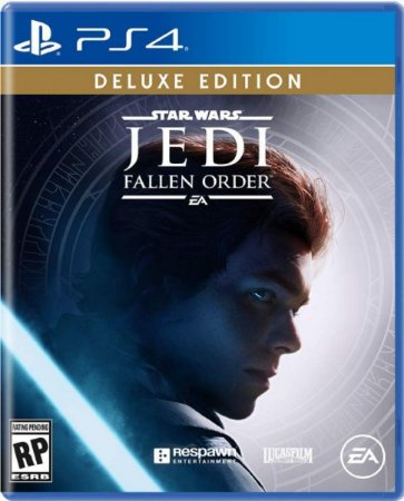 Jogo Star Wars - Jedi Fallen Order Deluxe Edition - PS4 Mídia Física Usado