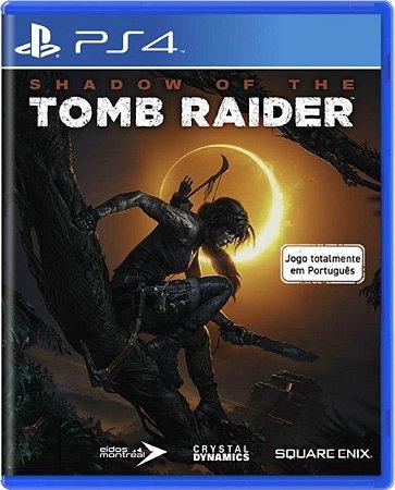 Jogo Shadow of The Tomb Raider - Ps4 Mídia Física Usado