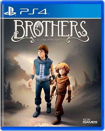 Jogo Brothers A Tale of Two Sons - Ps4 Mídia Física Usado