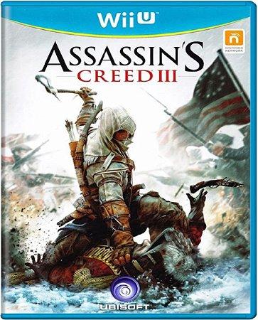 Jogo Assassin's Creed 3 - Wii U Mídia Física Usado