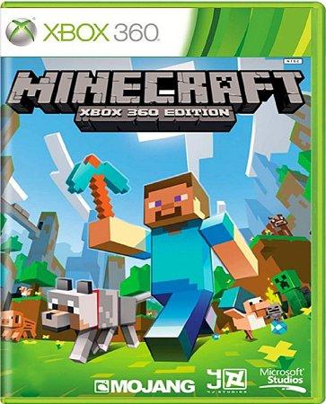 Jogo Minecraft - Xbox 360 Midia Física Usado