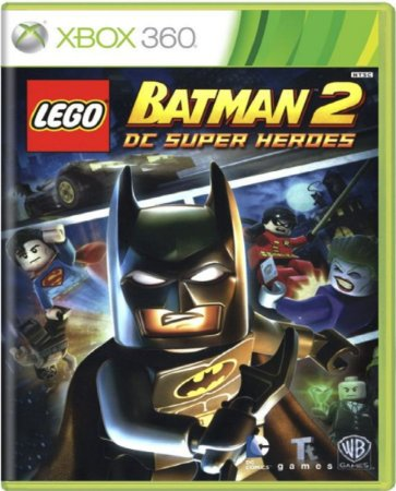 Jogo Lego Batman 2 Super Heroes -Xbox 360 Mídia Física Usado