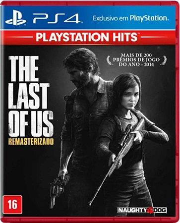Jogo The Last of Us Playstation Hits - Ps4 Mídia Física Usado