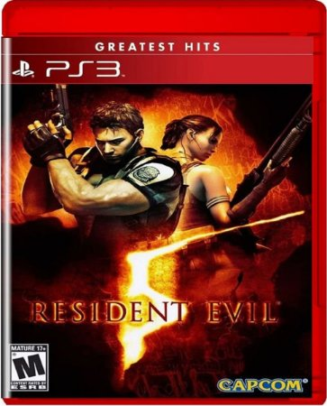 Jogo Resident Evil 5 Greatest Hits - Ps3 Mídia Física Usado