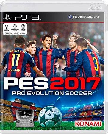 Jogo Pro Evolution Soccer 2017 - Ps3 Mídia Física Usado