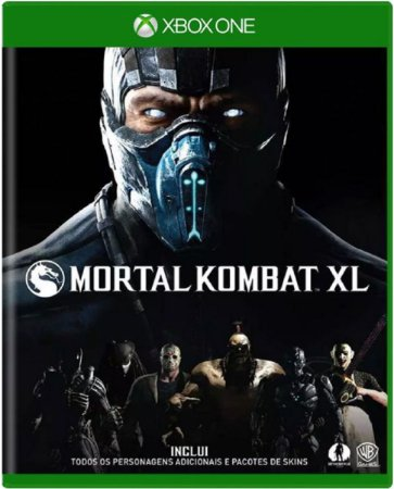 Jogo Mortal Kombat XL - Xbox One Mídia Física Usado