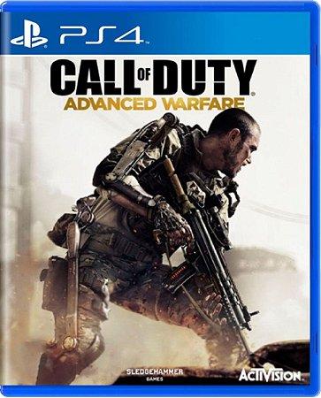 Jogo Call of Duty Advanced Warfare - Ps4 Mídia Física Usado