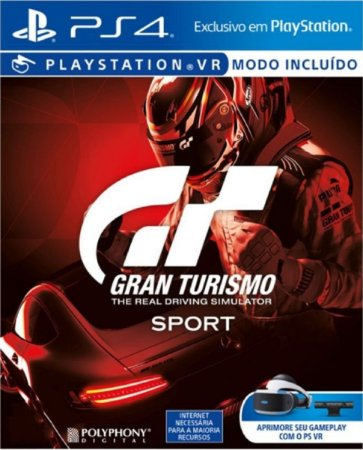 Jogo Gran Turismo Sport - Ps4 Encartelado Usado