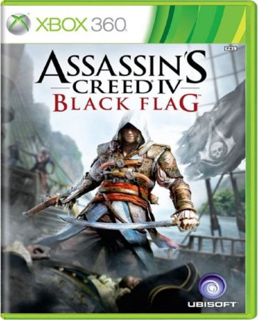 Jogo Assassin's Creed 4 Black Flag - Xbox 360 Mídia Usado