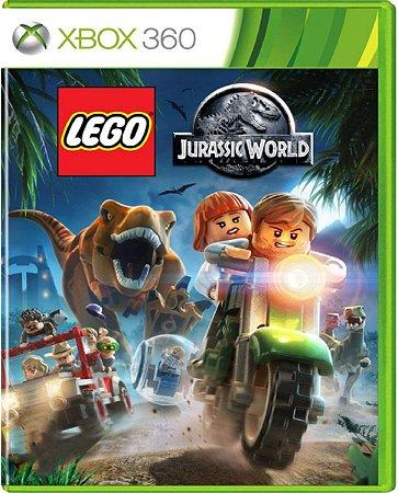 Jogo Lego Jurassic World - Xbox 360 Mídia Física Usado