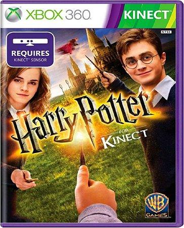 Jogo Harry Potter Para Kinect - Xbox 360 Mídia Física Usado