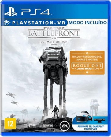 Jogo Star Wars Battlefront  Ultimate - Ps4 Mída Física Usado