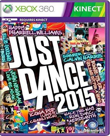 Jogo Just Dance 2015 - Xbox 360 Mídia Física Usado
