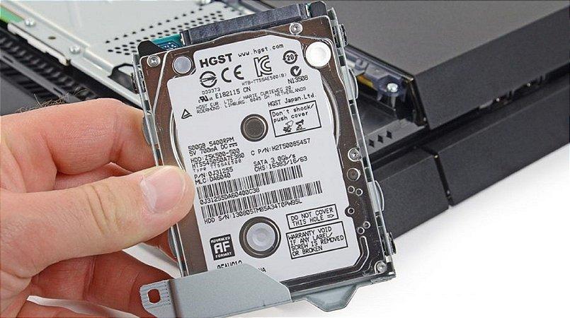 Conserto: Troca de HD Playstation 4