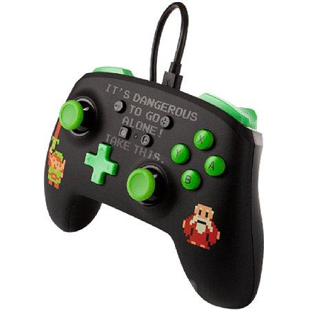 Controle Aprimorado PowerA Com Fio Nintendo Switch Legend of Zelda