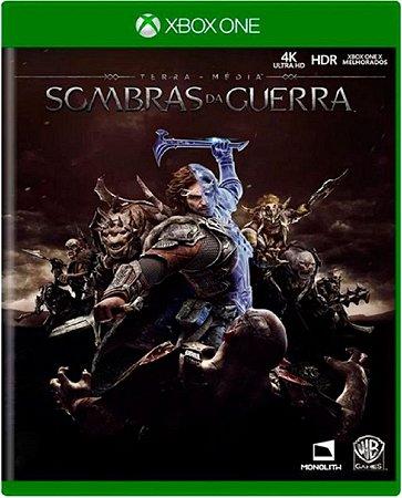 Jogo Terra Média Sombras da Guerra - Xbox One Usado