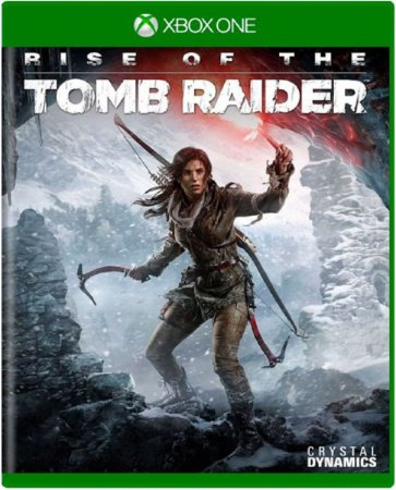 Jogo Rise of The Tomb Raider - Xbox One Mídia Física Usado