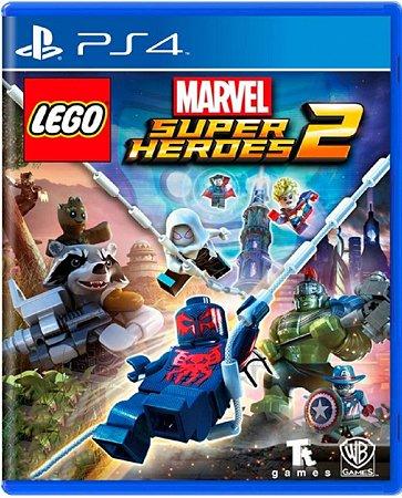 Jogo Lego Marvel Super Heroes 2 - PS4 Mídia Física Usado