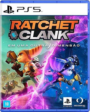Jogo Ratchet & Clank Em Uma Outra Dimensão - Ps5 Mídia Física