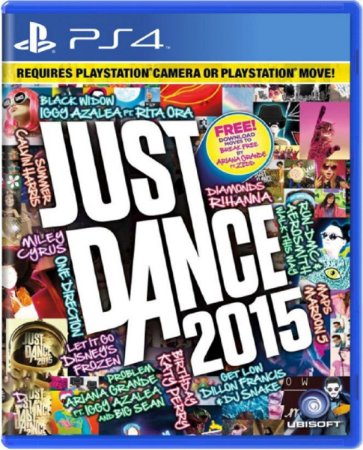 Jogo Just Dance 2015 - PS4 Mídia Física Usado