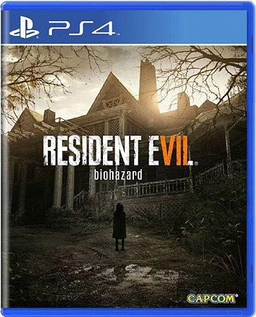 Jogo Resident Evil Biohazard - Ps4 Mídia Física Usado