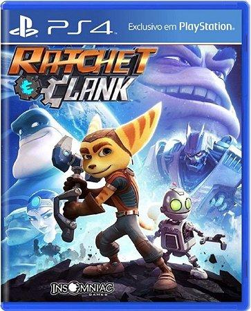 Jogo Ratchet & Clank - Ps4 Mídia Física Usado