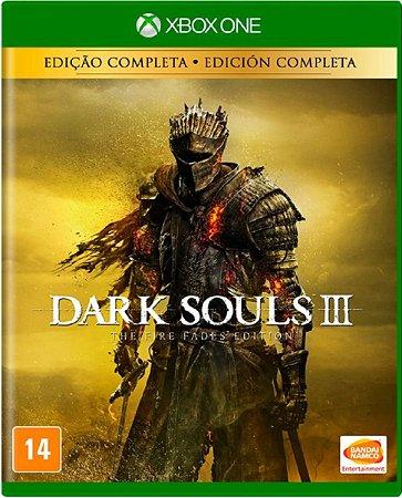Jogo Dark Souls III Edição Completa - Xbox One Mídia Física Usado
