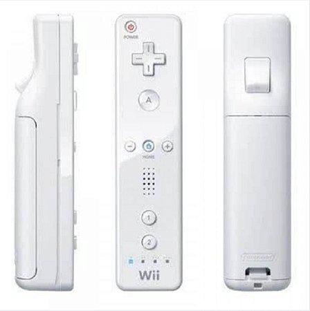 Controle Nintendo Wii Remote Branco Usado