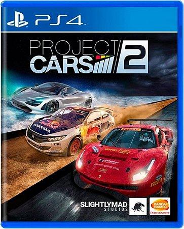 Jogo Project Cars 2 Edição de Lançamento - Ps4 Mídia física Usado