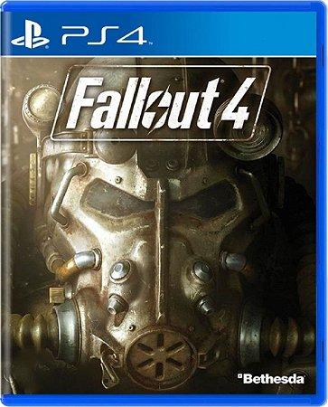 Jogo Fallout 4 - Ps4 Mídia Física Usado